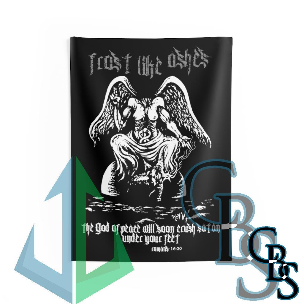 Frost Like Ashes Desecrated Baphomet Indoor Wall Tapestries