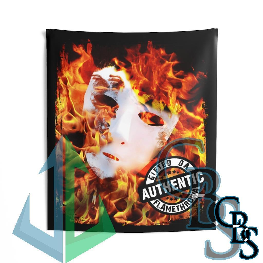 Gifted Da Flamethrowa – Authentic Indoor Wall Tapestries