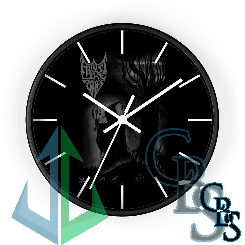 Frost Like Ashes Lord of Darkness Wall clock
