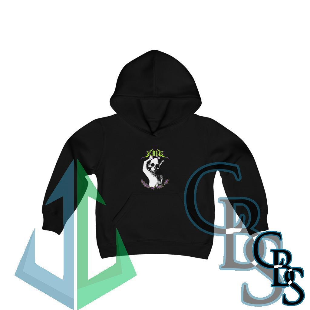 Krig – Chaos In The Air Youth Heavy Blend Hooded Sweatshirt
