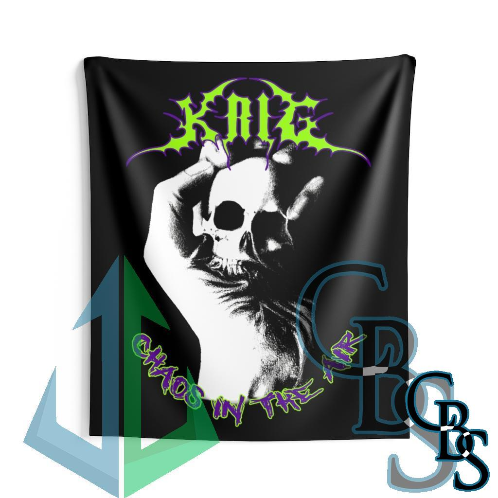 Krig – Chaos In The Air Indoor Wall Tapestries