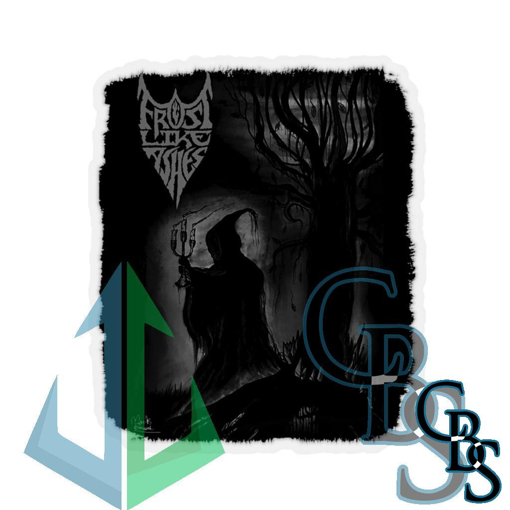 Frost Like Ashes Lord of Darkness Die Cut Stickers