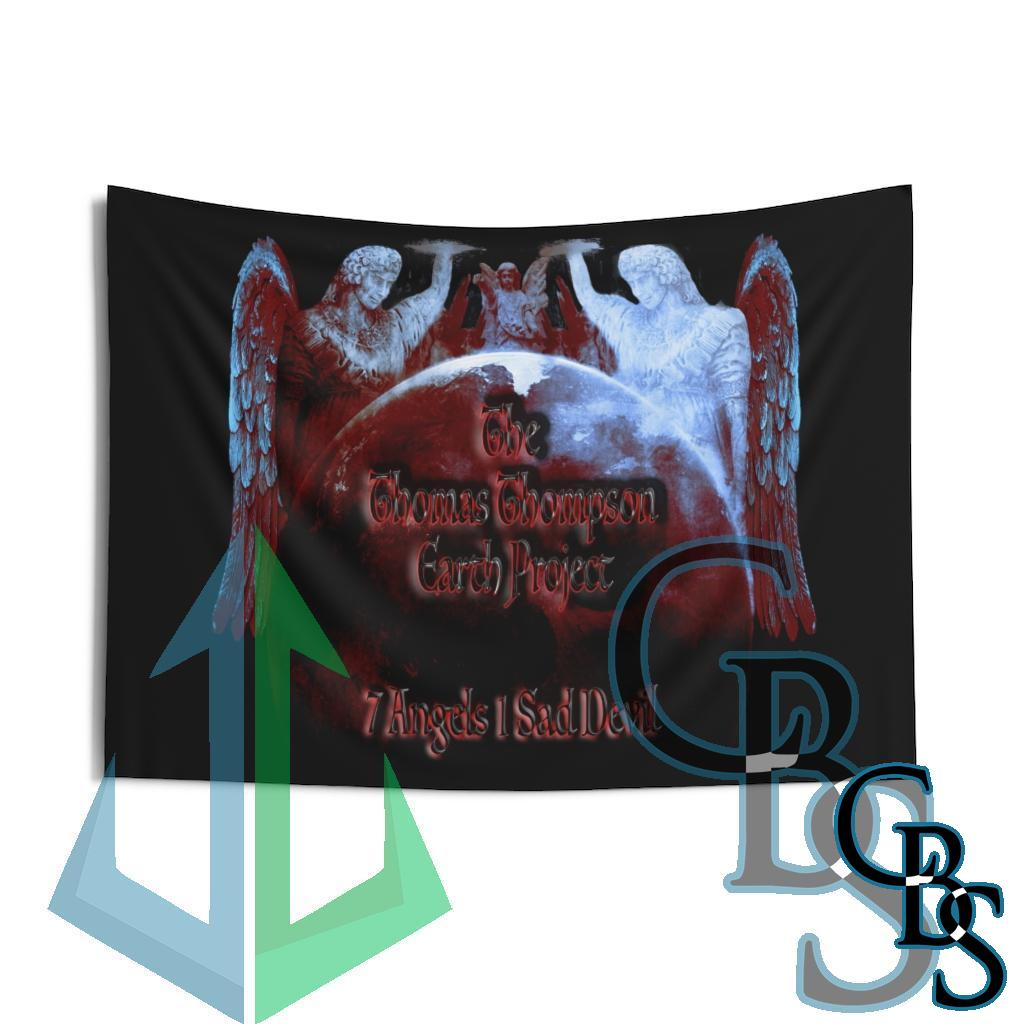 The Thomas Thompson Earth Project 7 Angels Indoor Wall Tapestries