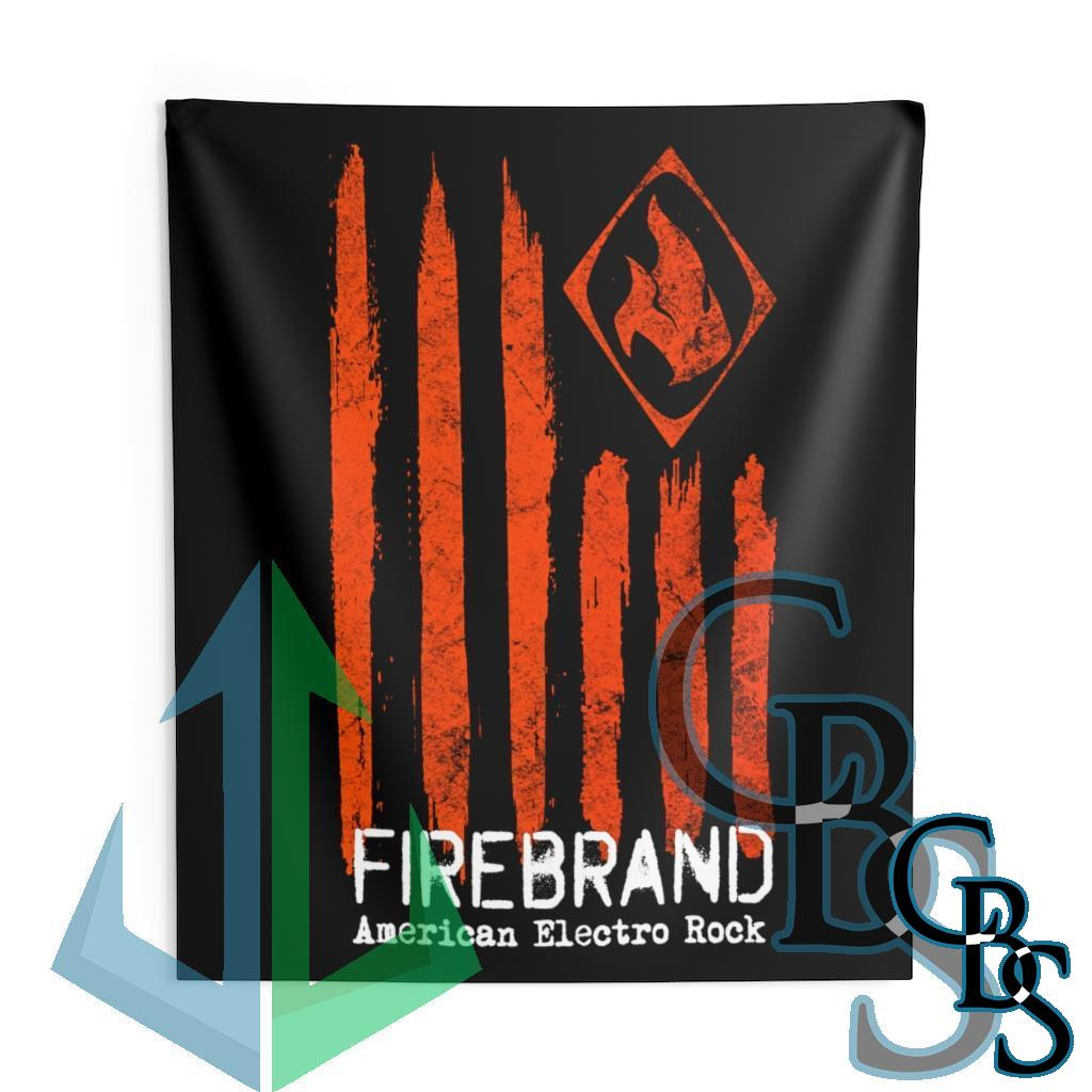 Firebrand American Electro Rock Indoor Wall Tapestries