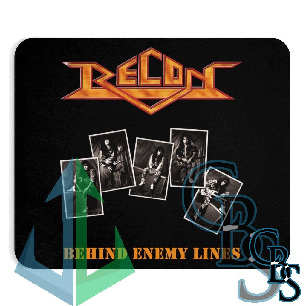Recon – Behind Enemy Lines Black Mouse Pad