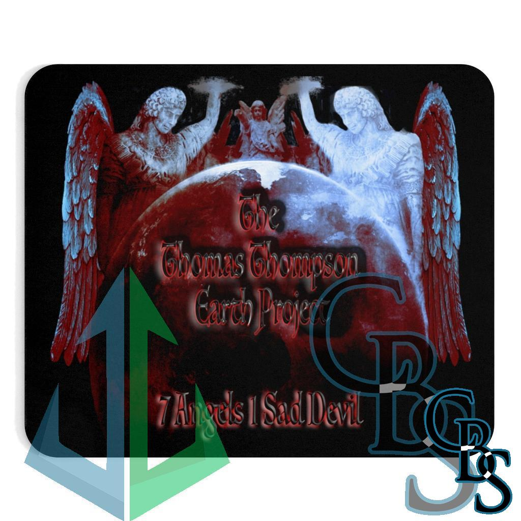 The Thomas Thompson Earth Project 7 Angels Mouse Pad