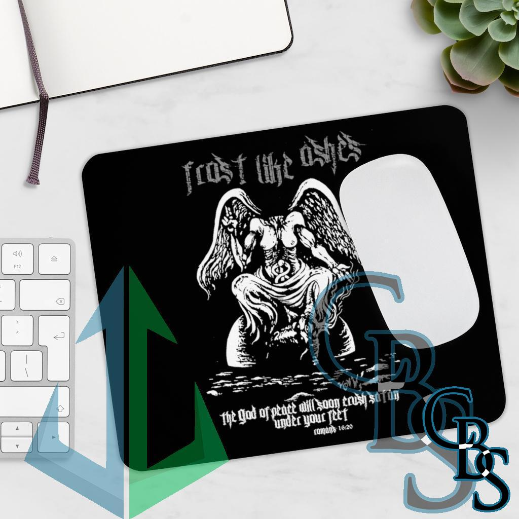 Frost Like Ashes Desecrated Baphomet Mouse Pad
