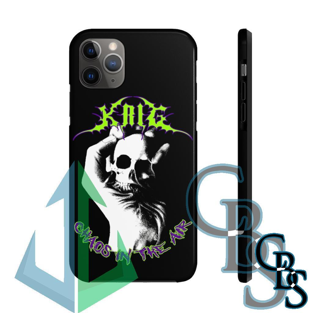 Krig – Chaos In The Air Tough iPhone Cases (iPhone 7/7 Plus, iPhone 8/8 Plus, iPhone X, XS, XR, iPhone 11, 11 Pro, 11 Pro Max)