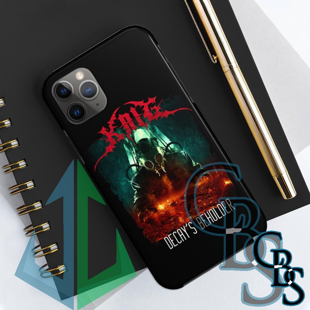 Krig – Decay's Beholder Tough iPhone Cases (iPhone 7/7 Plus, iPhone 8/8 Plus, iPhone X, XS, XR, iPhone 11, 11 Pro, 11 Pro Max)