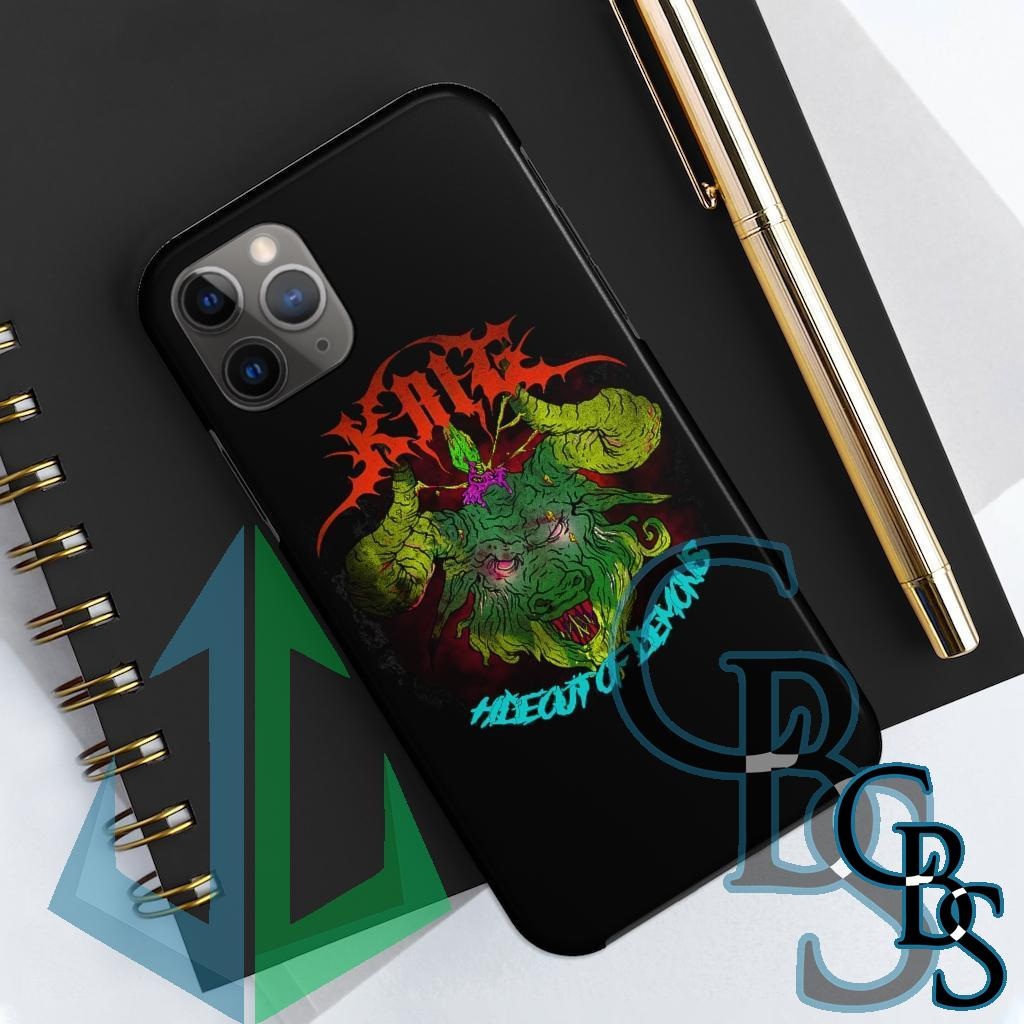 Krig – Hideout of Demons V2 Tough iPhone Cases (iPhone 7/7 Plus, iPhone 8/8 Plus, iPhone X, XS, XR, iPhone 11, 11 Pro, 11 Pro Max)