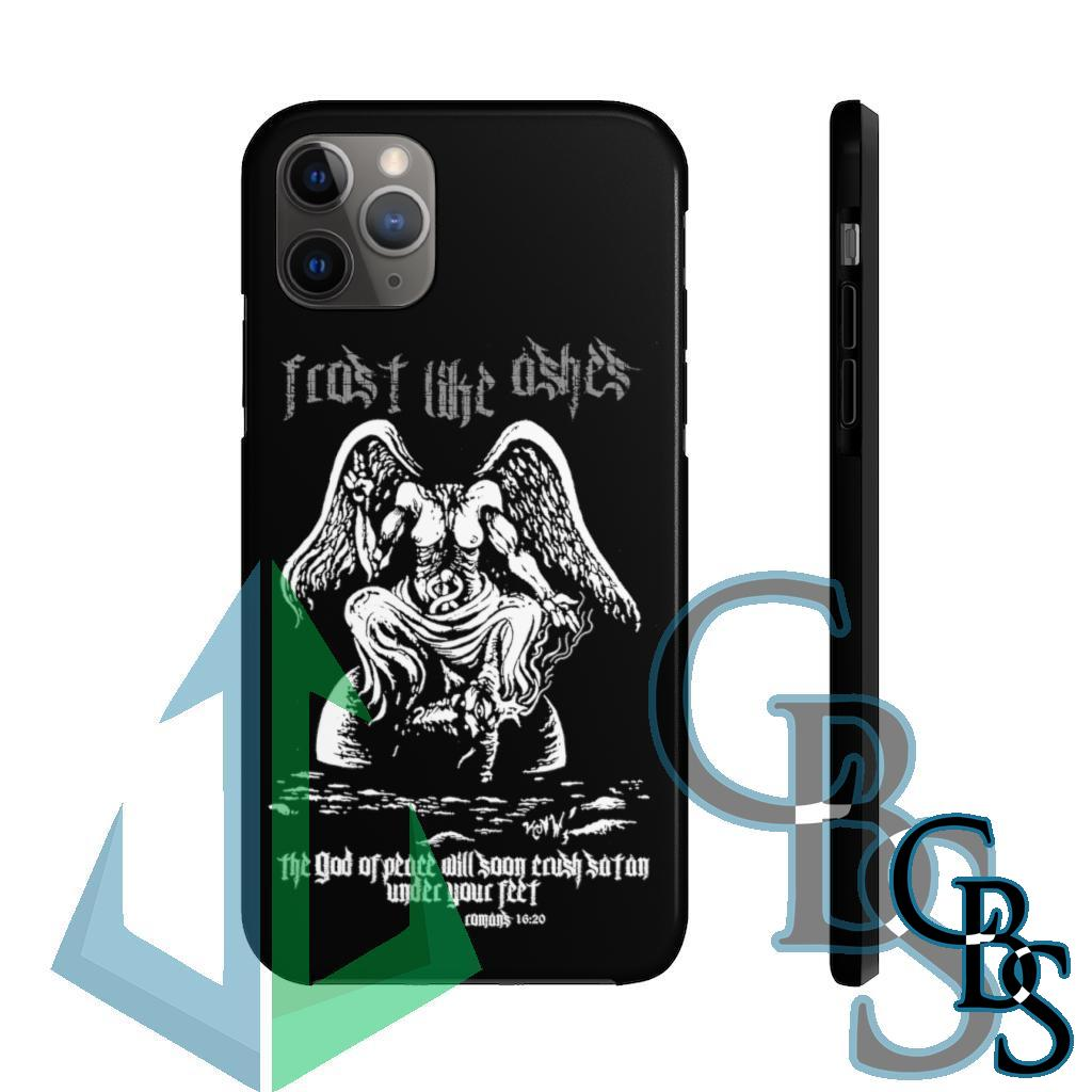 Frost Like Ashes Desecrated Baphomet Tough iPhone Cases (iPhone 7/7 Plus, iPhone 8/8 Plus, iPhone X, XS, XR, iPhone 11, 11 Pro, 11 Pro Max)