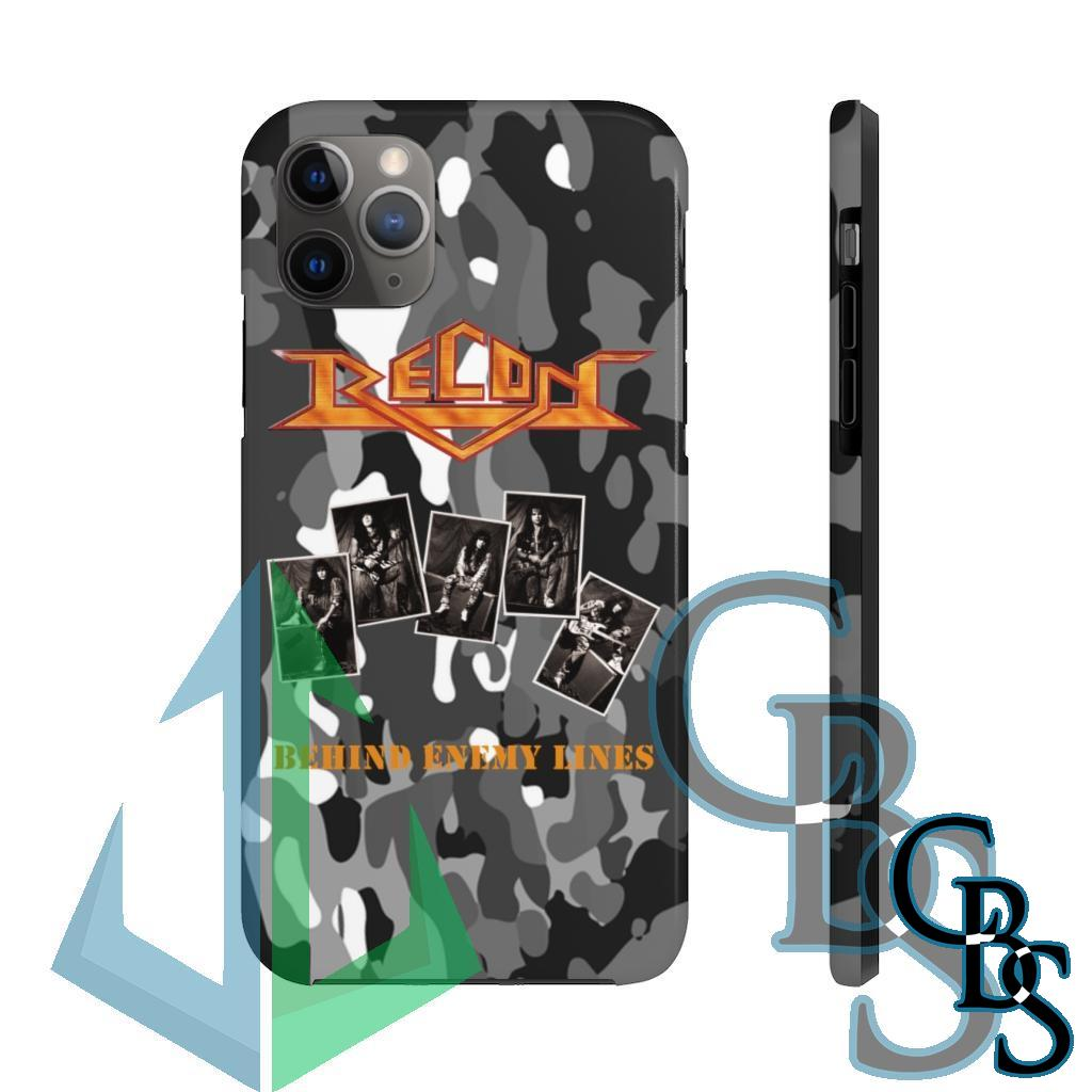 Recon – Behind Enemy Lines Tough iPhone Cases (iPhone 7/7 Plus, iPhone 8/8 Plus, iPhone X, XS, XR, iPhone 11, 11 Pro, 11 Pro Max)