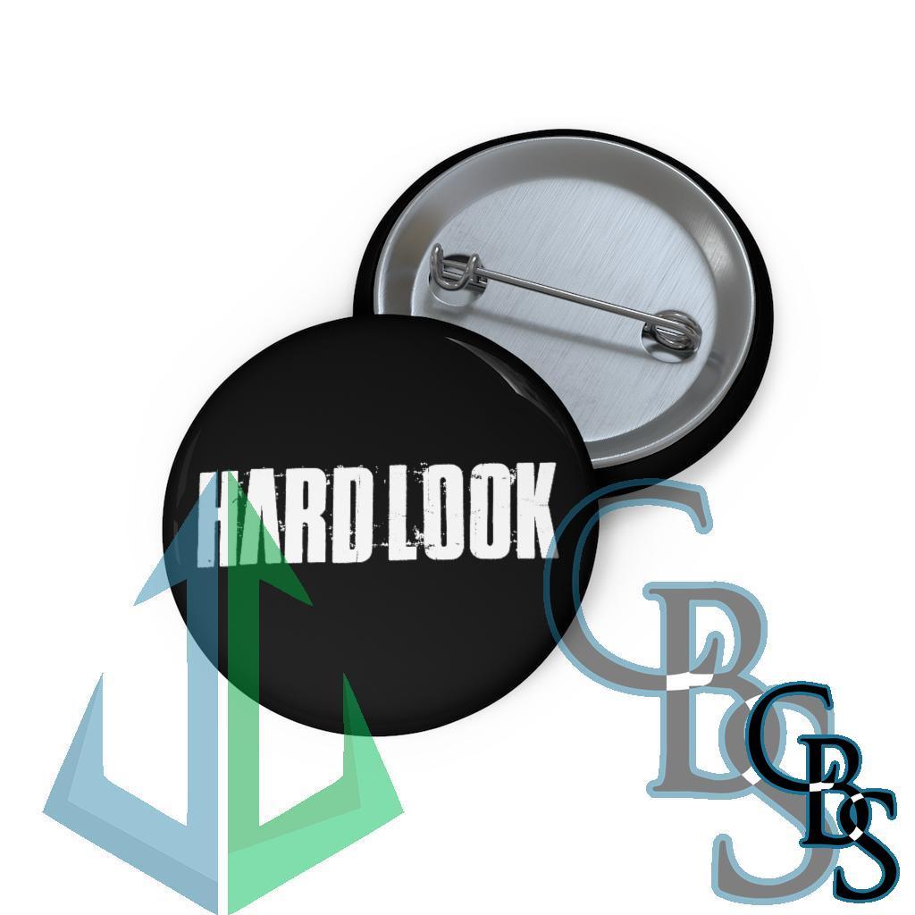 Hard Look New Logo Pin Buttons
