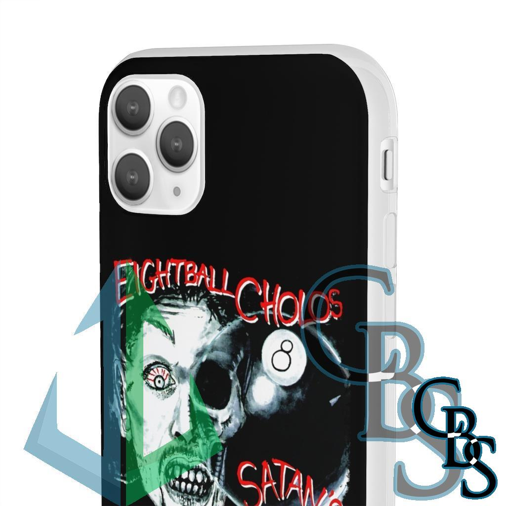 Eightball Cholos – Satan's Whore Clear Edge TPU Case for Samsung S10 and iPhone 7 thru Iphone 11 Pro Max