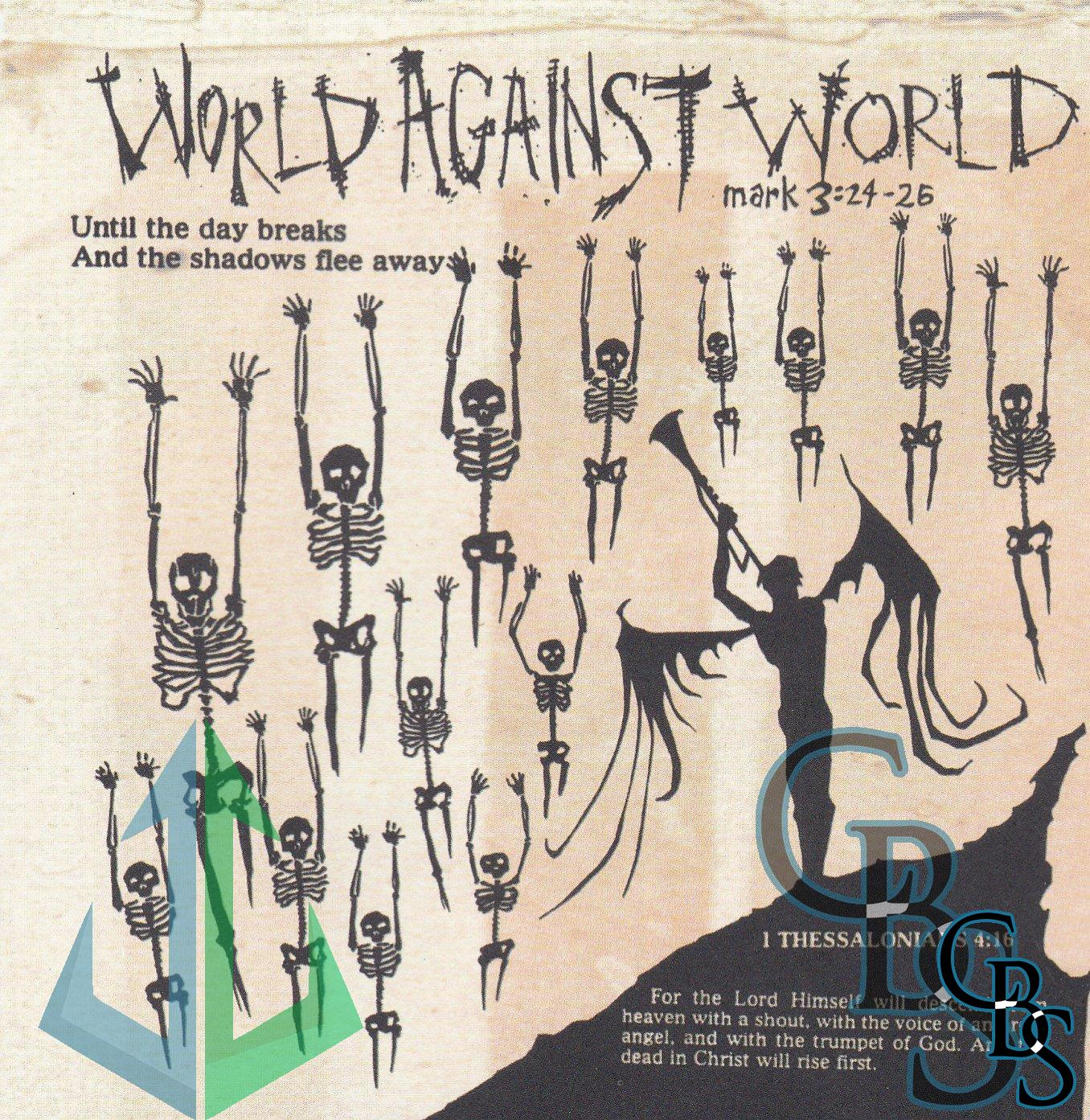 World Against World – Until The Day Breaks… Compact Disc