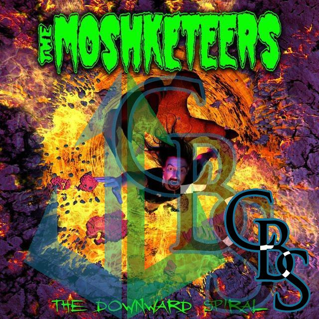 The Moshketeers – The Downward Spiral Compact Disc