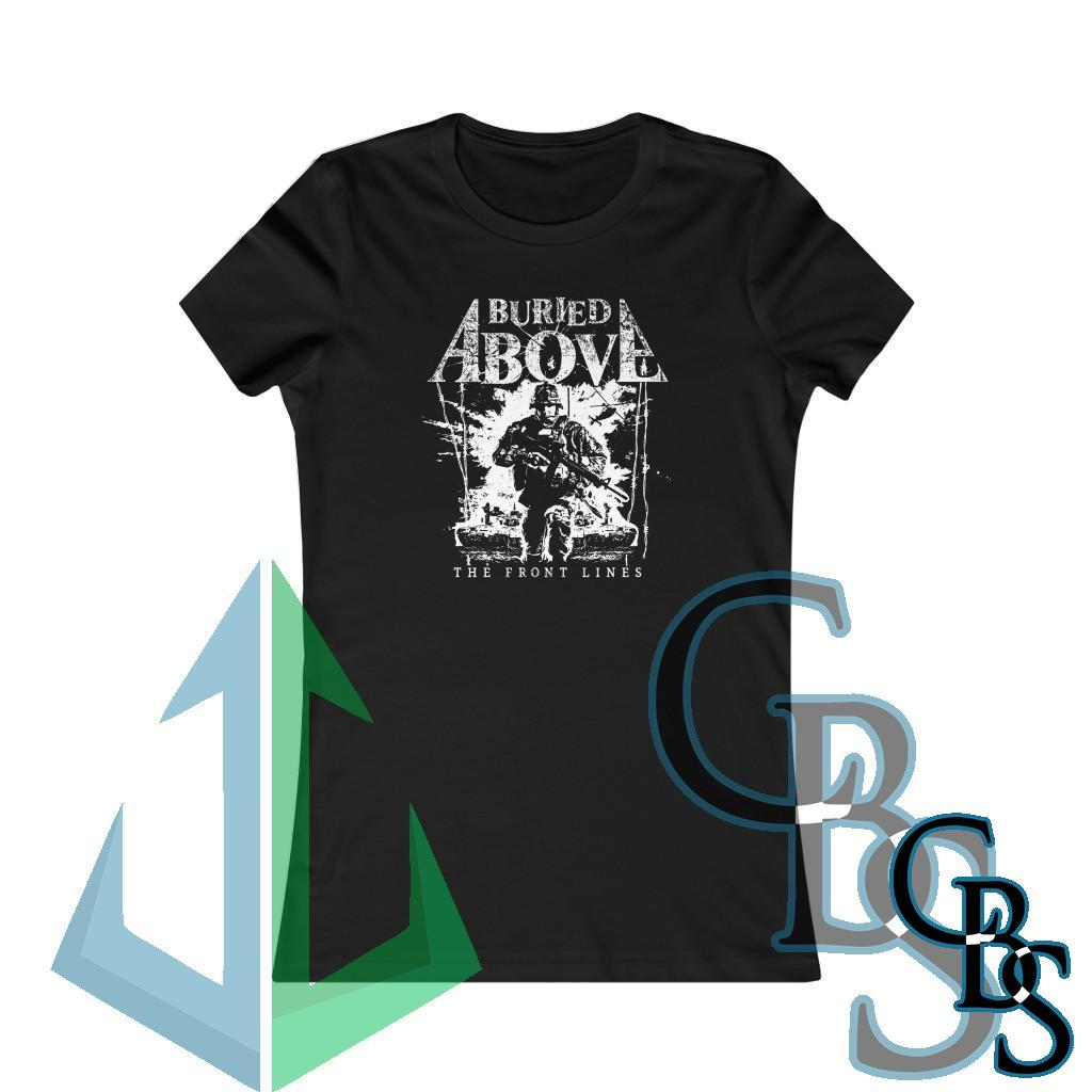 Buried Above – The Front Lines Women's Short Sleeve Tshirt 6004