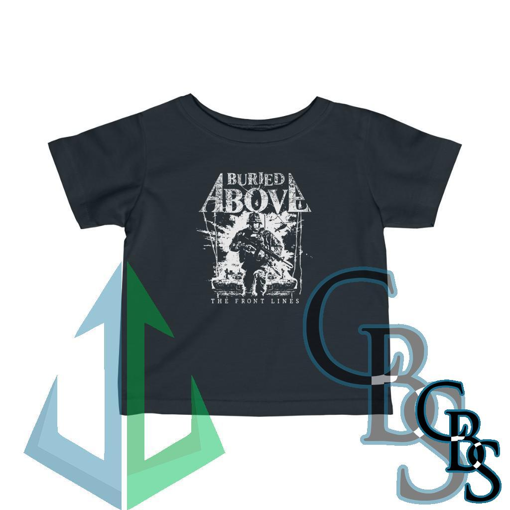 Buried Above – The Front Lines Infant Short Sleeve Tshirt