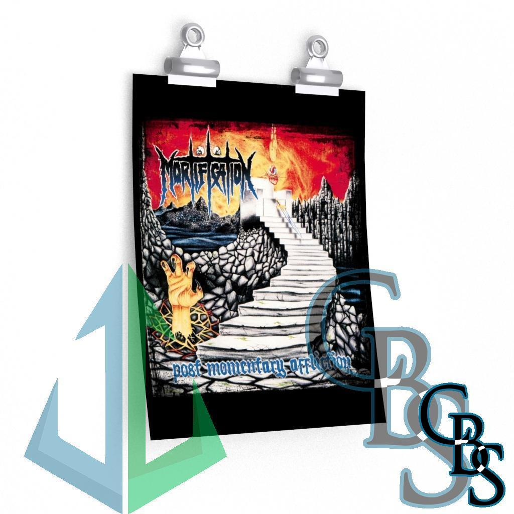 Mortification Post Momentary Affliction Posters
