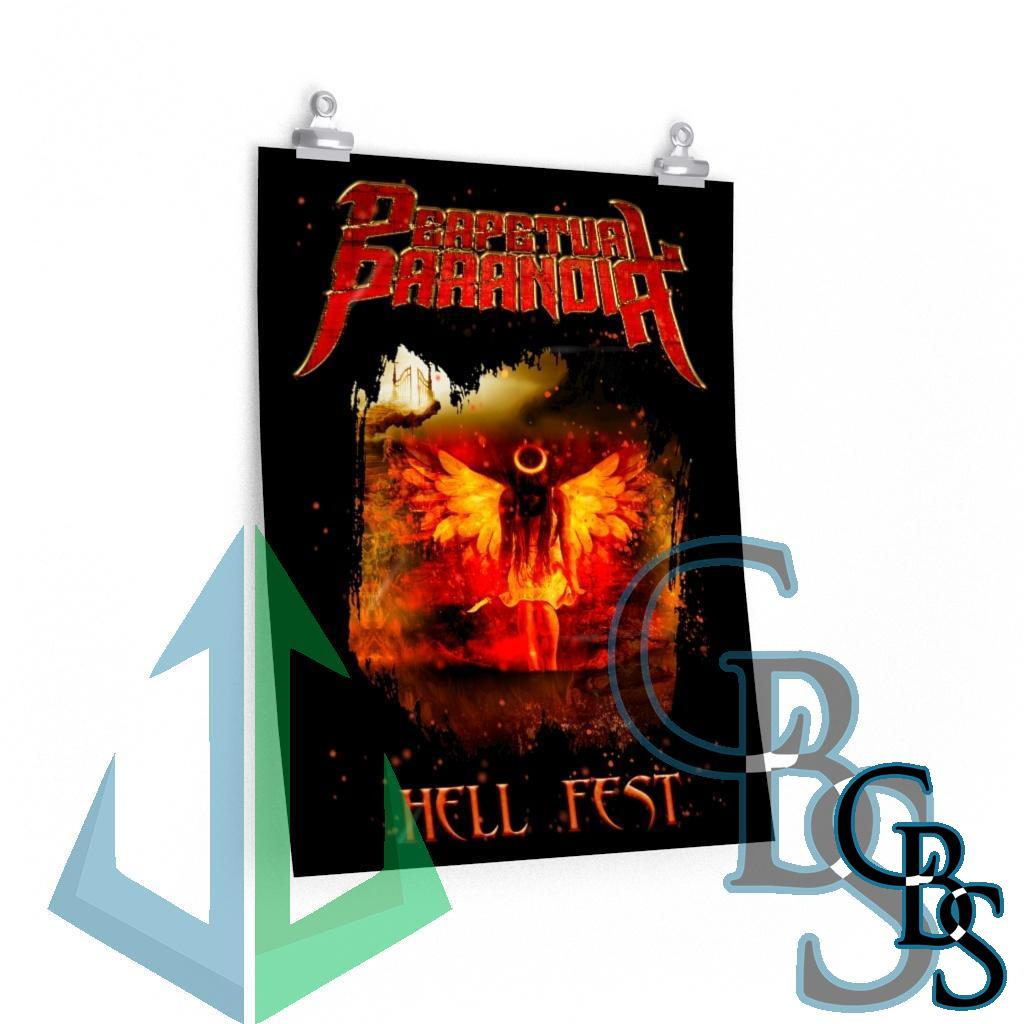 Perpetual Paranoia – Hell Fest Posters