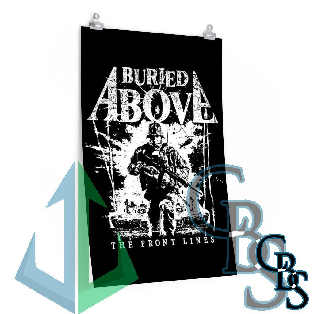 Buried Above – The Front Lines Posters