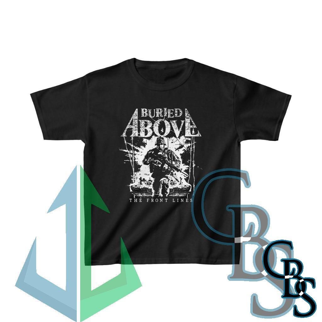 Buried Above – The Front Lines Children's Short Sleeve Tshirt