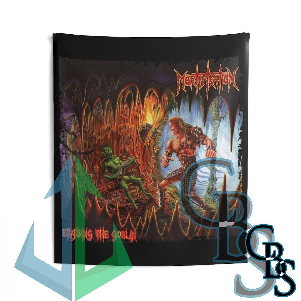 Mortification – Erasing the Goblin Cavern Edition Indoor Wall Tapestries