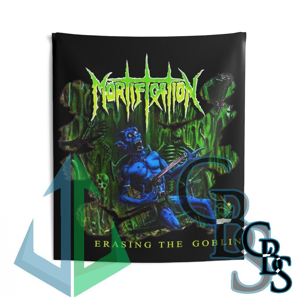 Mortification – Erasing the Goblin Indoor Wall Tapestries