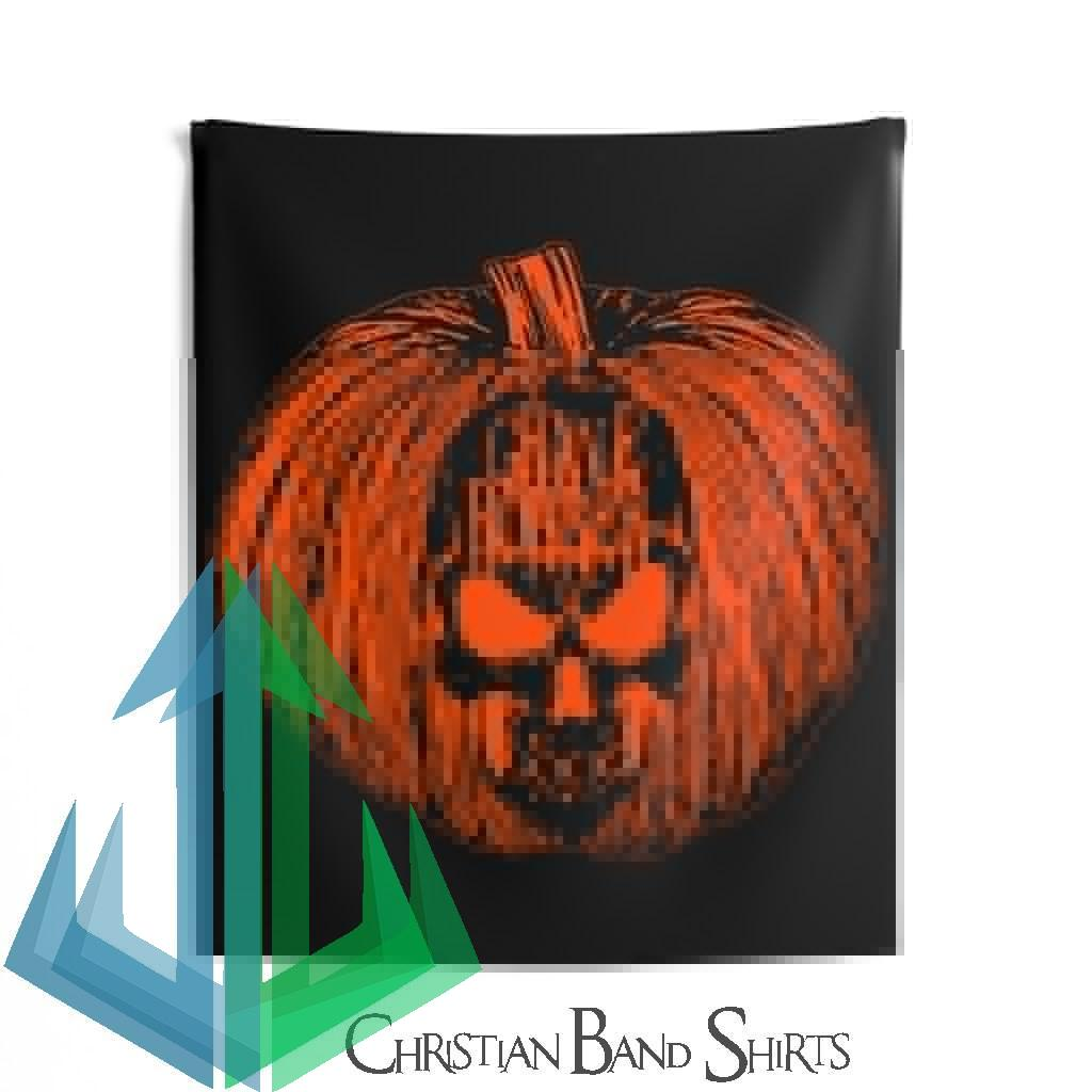 Grave Robber Pumpkin Limited Edition Indoor Wall Tapestries