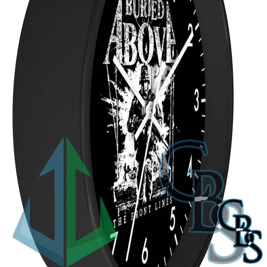 Buried Above – The Front Lines Wall Clock