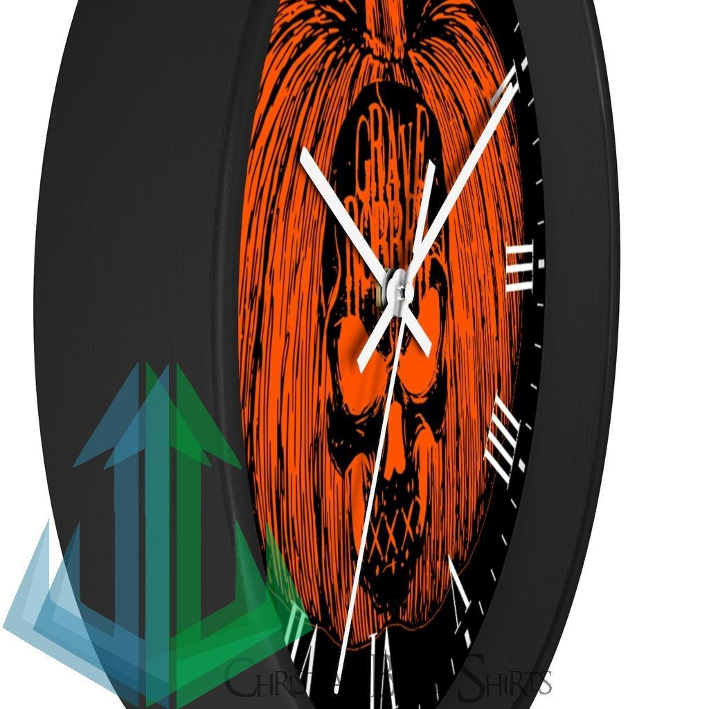 Grave Robber Pumpkin Limited Edition Wall clock