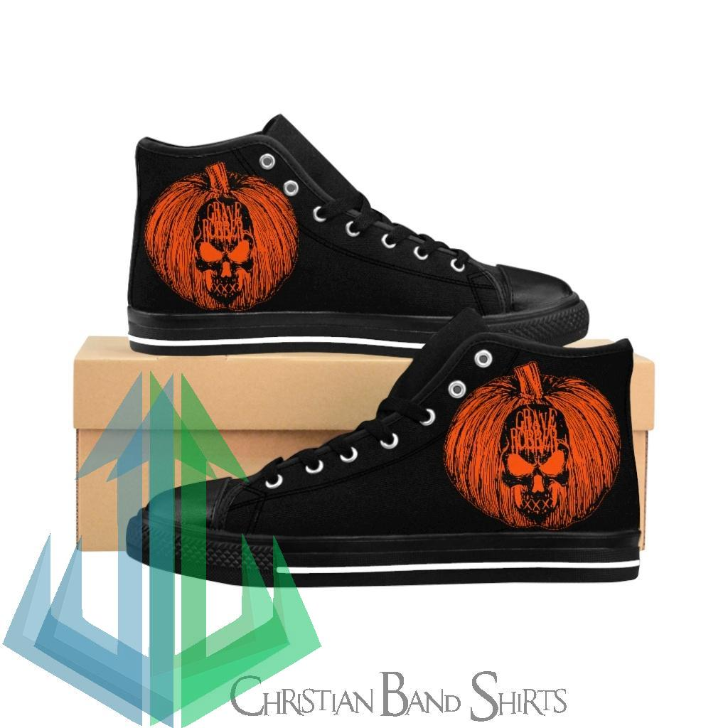 Grave Robber Pumpkin Limited Edition Men's High-top Sneakers