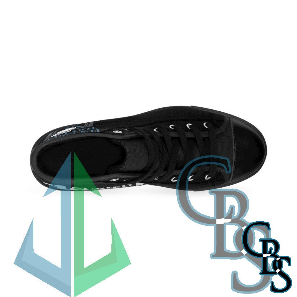 Buried Above – It's Never Too Late Women's High-top Sneakers