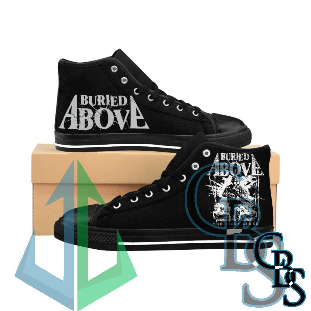 Buried Above – The Front Lines Women's High-top Sneakers
