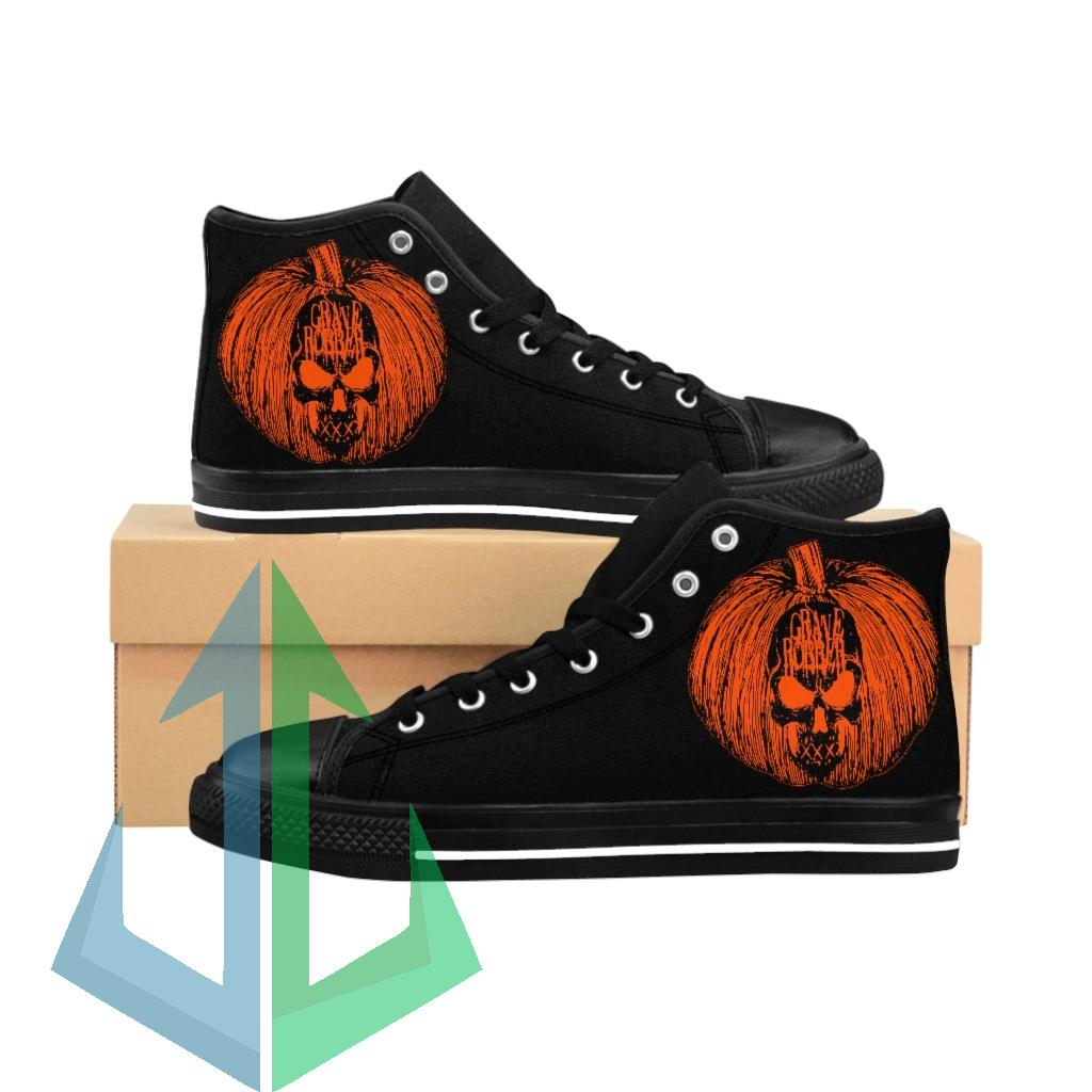 Grave Robber Pumpkin Limited Edition Women's High-top Sneakers