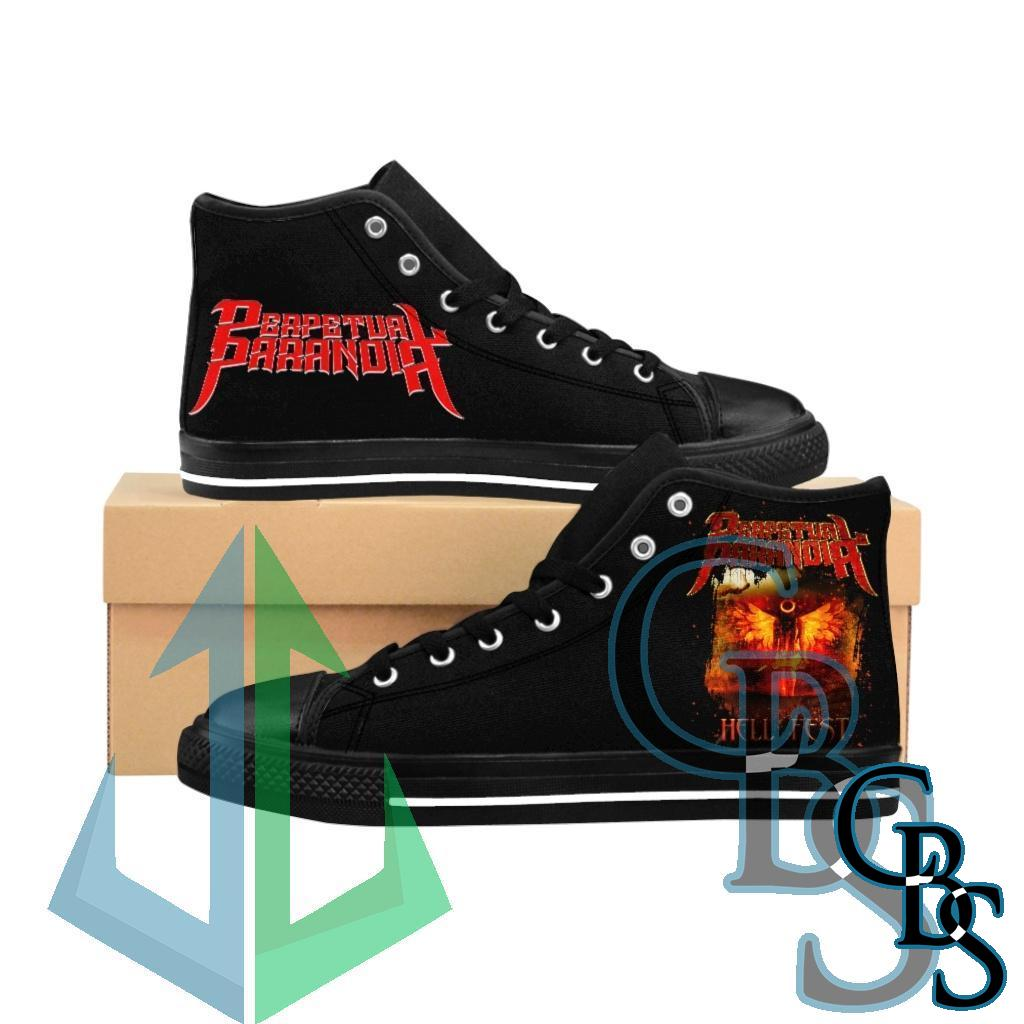 Perpetual Paranoia – Hell Fest Women's High-top Sneakers
