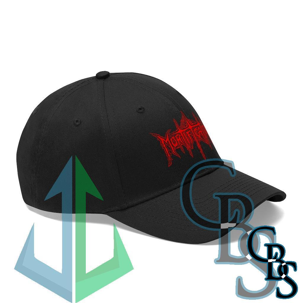 Mortification Red Logo Twill Cap