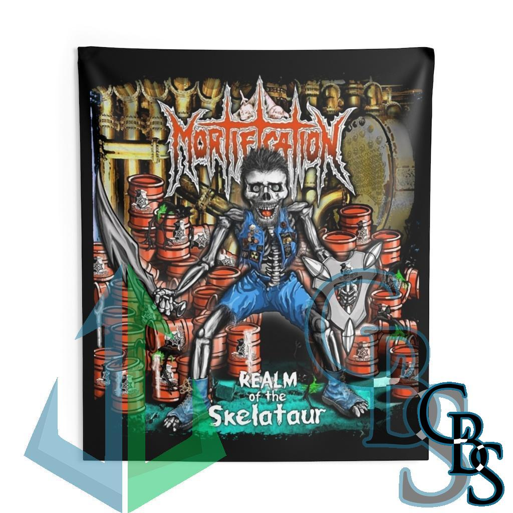 Mortification – Realm of the Skelataur Indoor Wall Tapestries