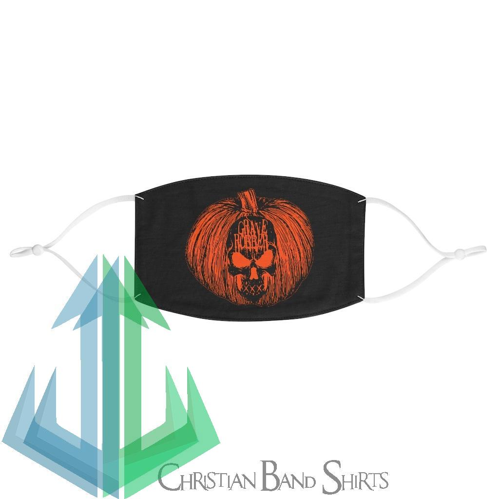 Grave Robber Pumpkin Limited Edition Fabric Face Mask