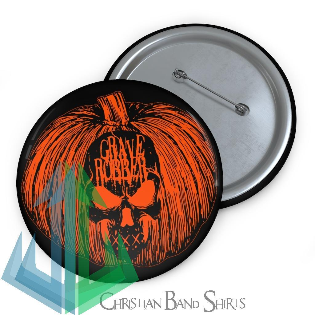 Grave Robber Pumpkin Limited Edition Pin Buttons