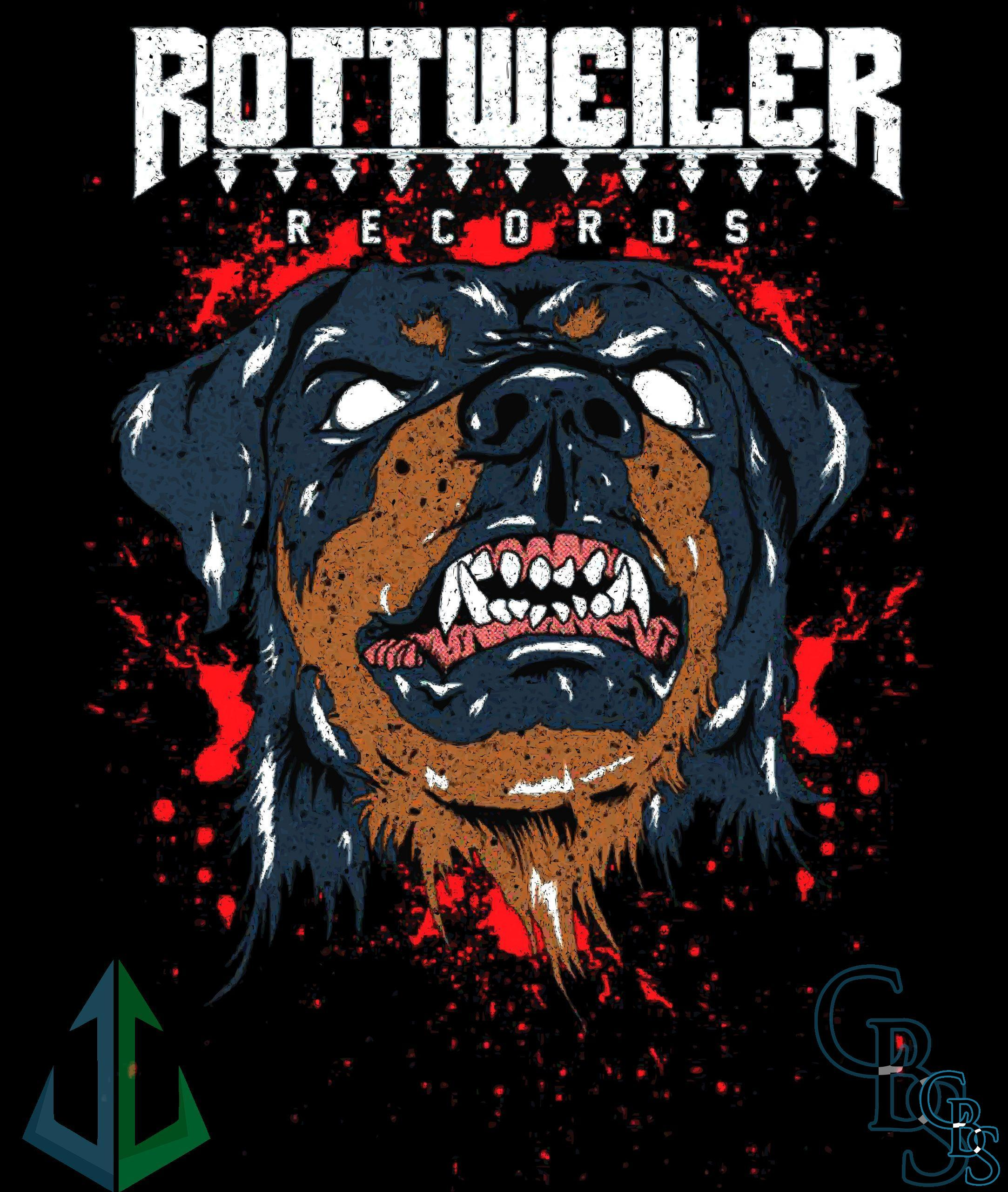 Rottweiler Records Canvas Patches (3 sizes)