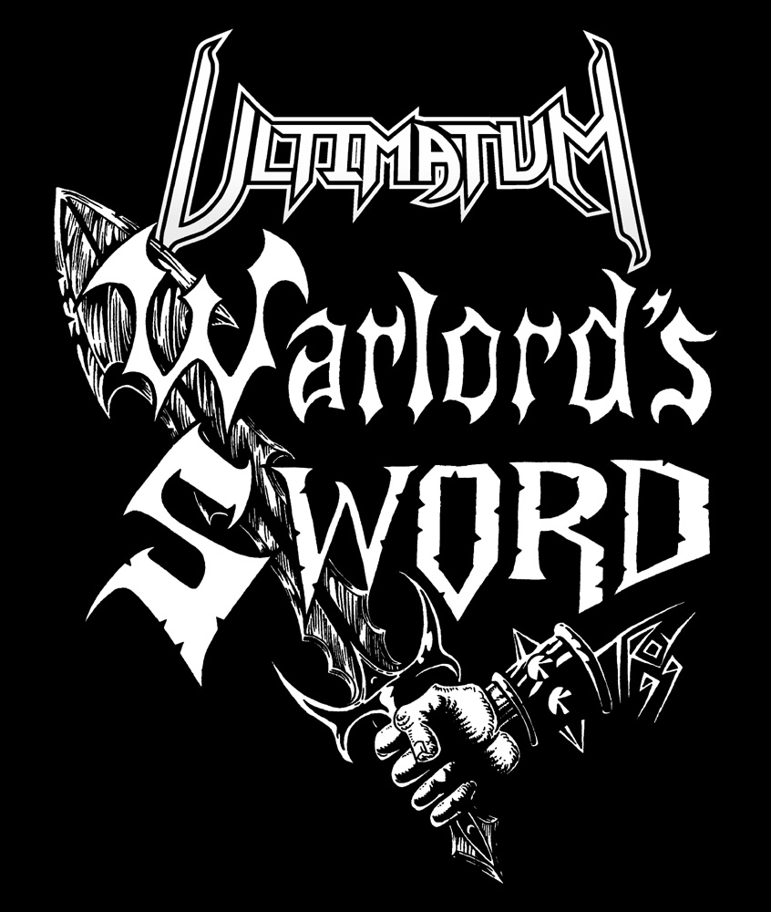 Ultimatum Warlord's Sword V2 Canvas Patches (3 Sizes)