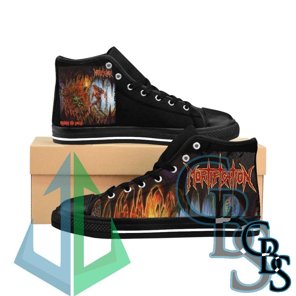 Mortification – Erasing the Goblin Cavern Edition Women's High-top Sneakers