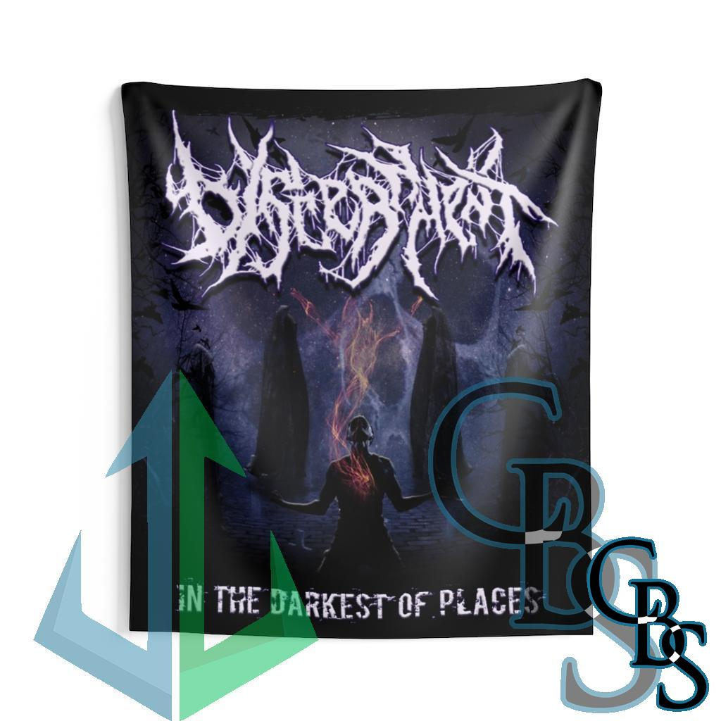 Discernment – In the Darkest of Places Indoor Wall Tapestries