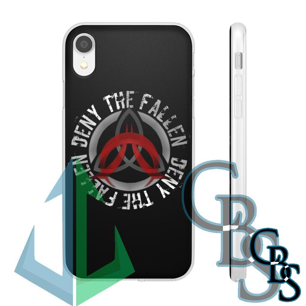 Deny The Fallen Clear Edge TPU Phone Cases