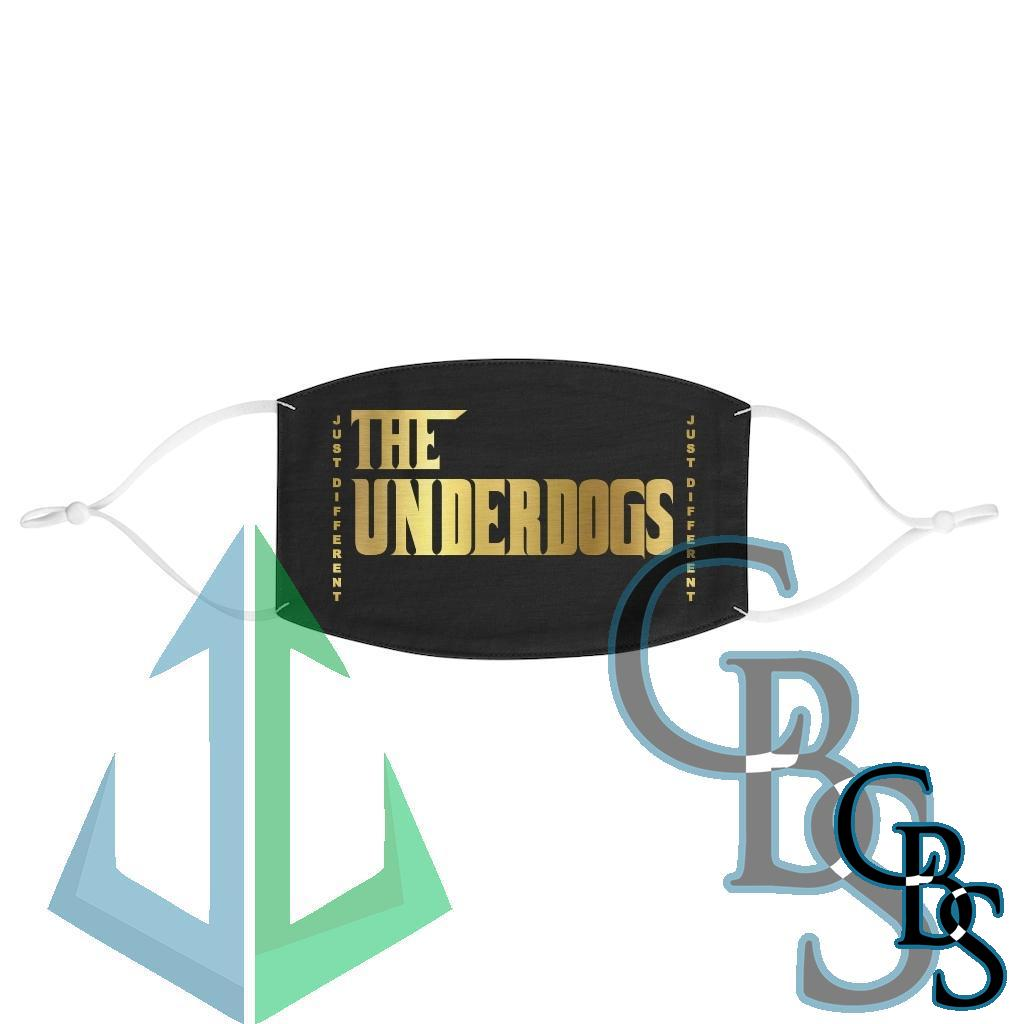 The Underdogs Jus' Different Fabric Face Mask