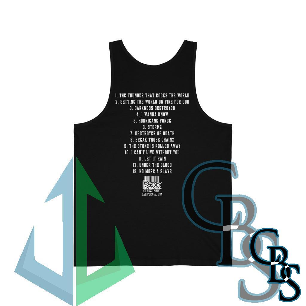 Swingle and Thompson Ordained – The Thunder That Rocks Unisex Jersey Tank Top