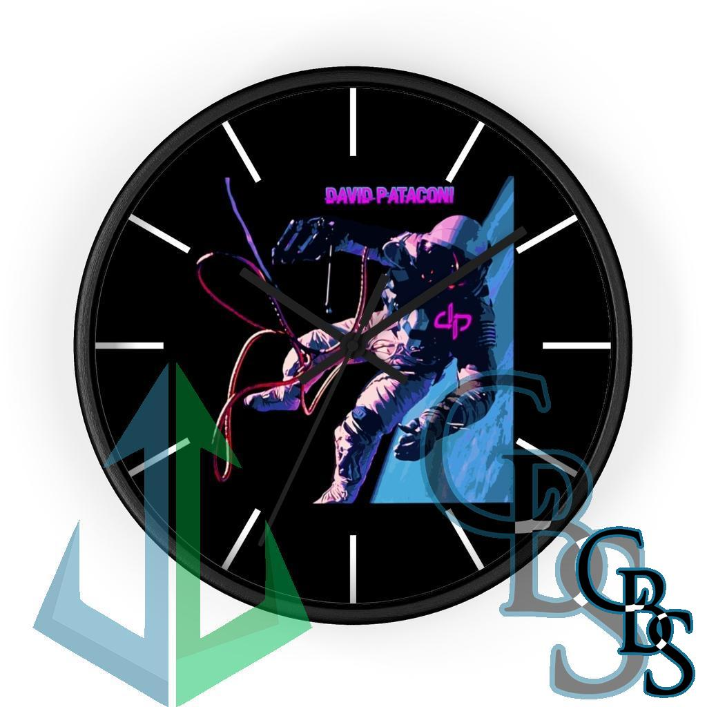 David Pataconi Space For Canvas Wall clock