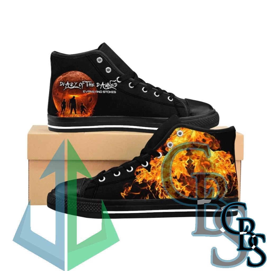 Evans and Stokes – Diary of the Damned Men's High-top Sneakers