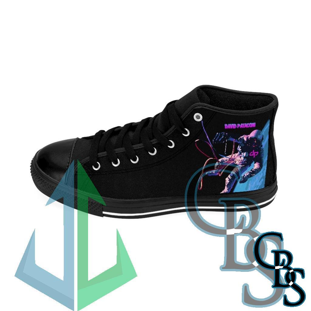 David Pataconi Space For Canvas Men's High-top Sneakers
